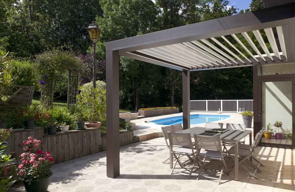 Fabrication De Pergola Pour Votre Terrasse A Annecy Actuel Veranda