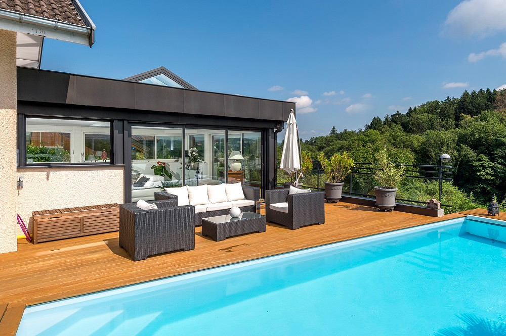 Vérandas, extensions et menuiserie aluminium à Annecy, Haute-Savoie - Actuel Veranda