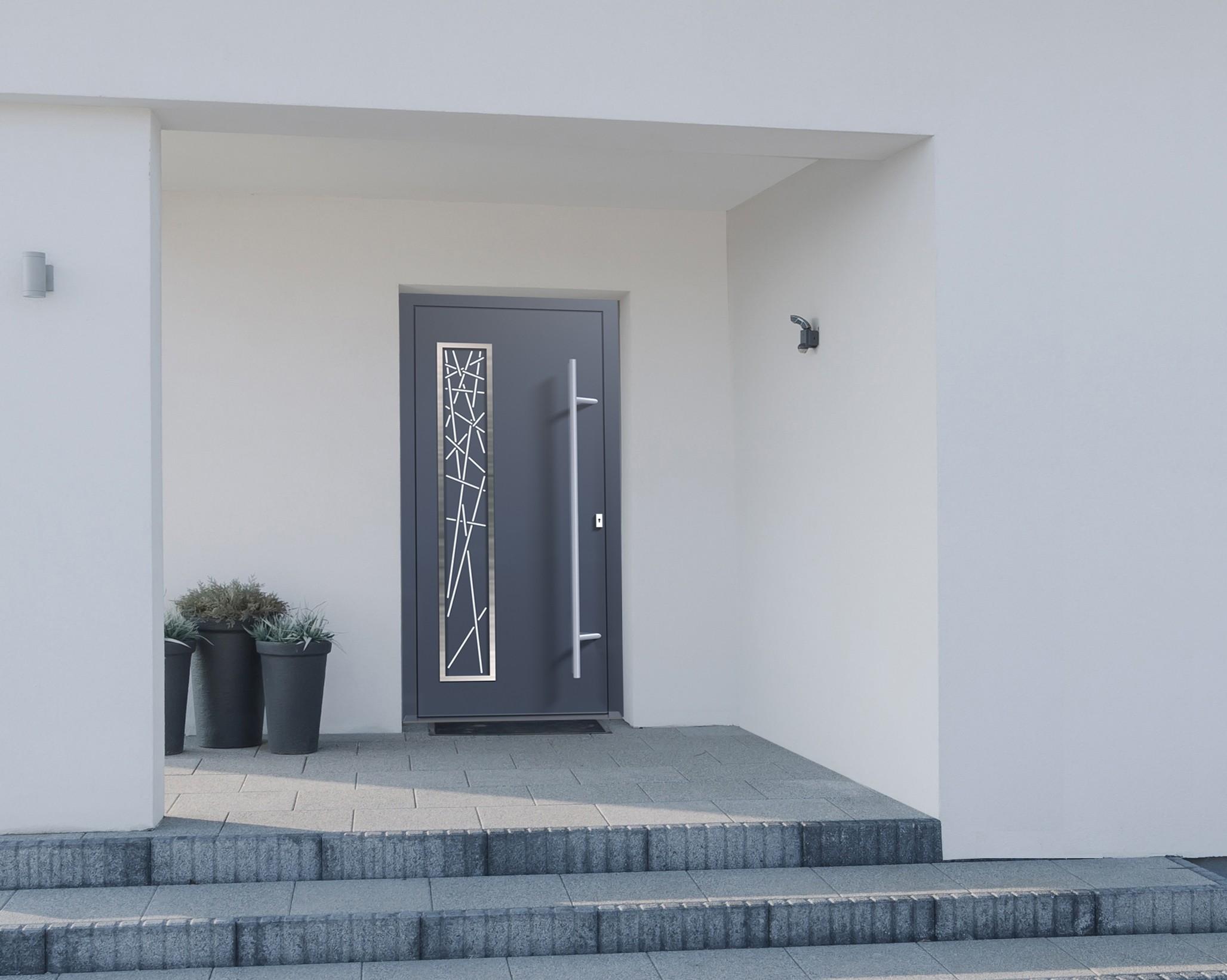 porte d 39 entr e et porte de garage aluminium annecy. Black Bedroom Furniture Sets. Home Design Ideas