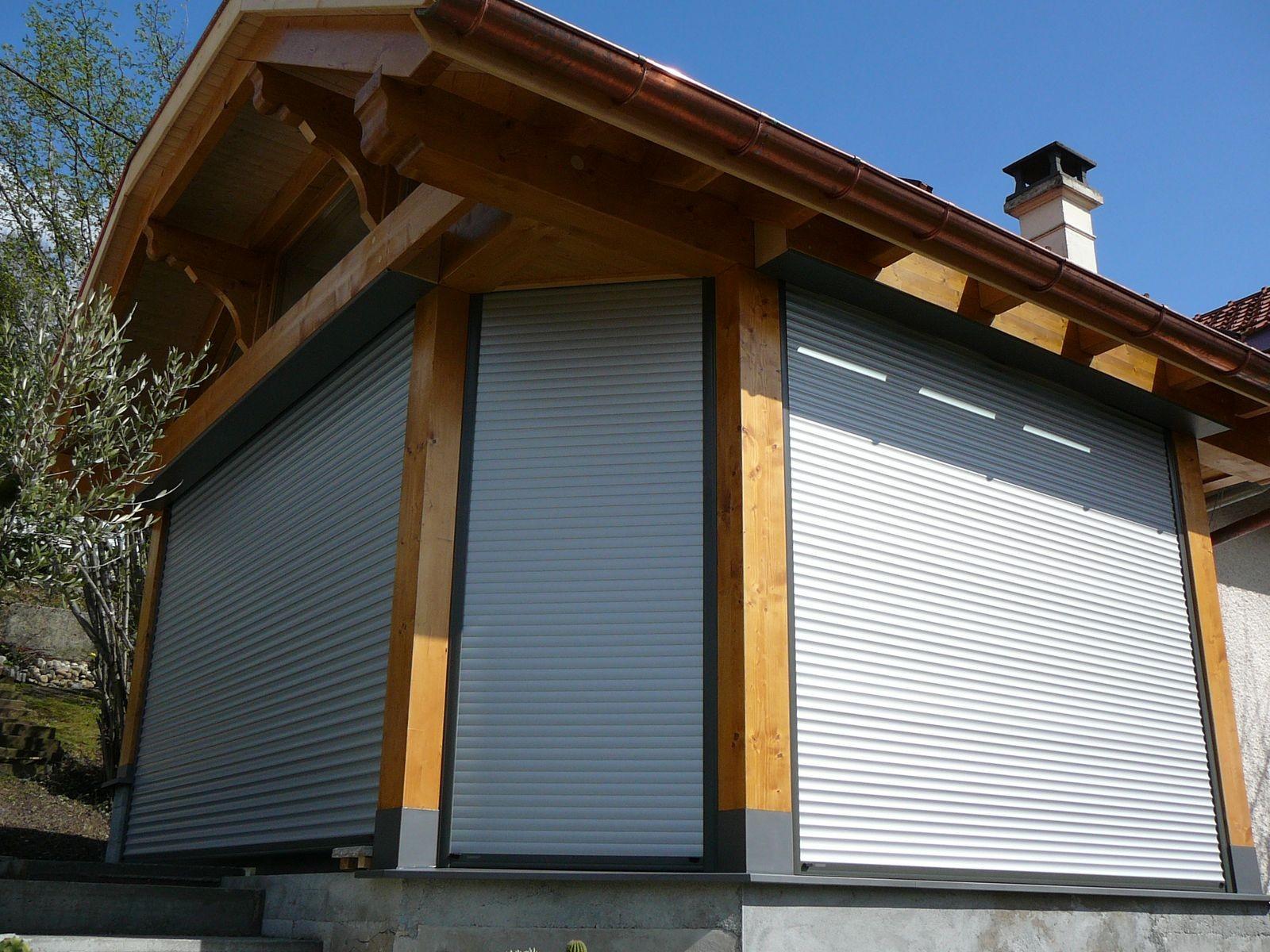 Pose de volets roulants et BSO en Haute-Savoie - Actuel Veranda